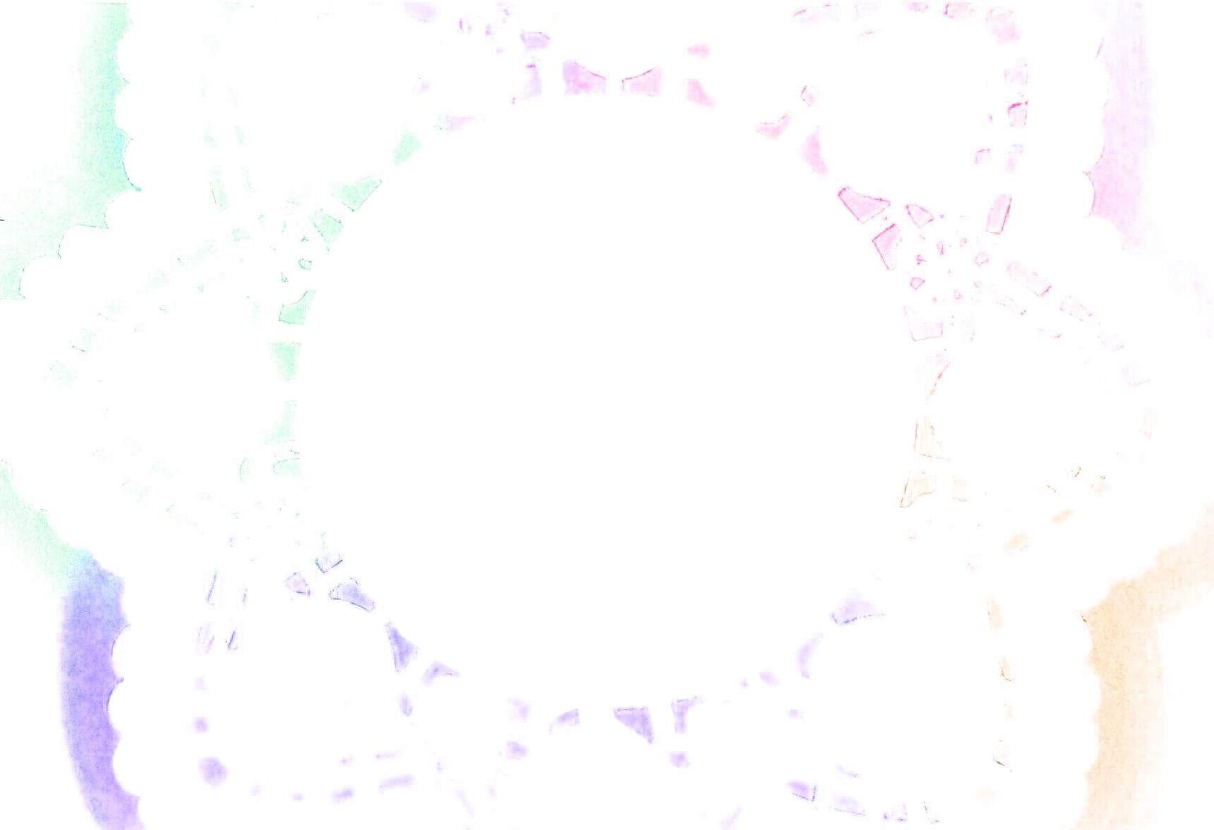うすピンク色の、水色などのパステルレース